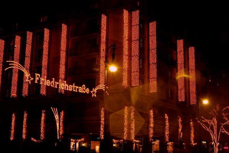 Weihnachten auf der Friedrichstrasse I/2005