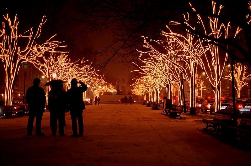 Weihnachten auf der Friedrichstrasse IV/2005