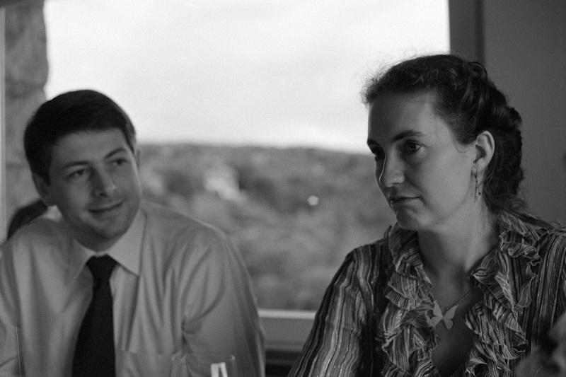 Annette und Lars am Tag unserer standesamtlichen Trauung in Dresden