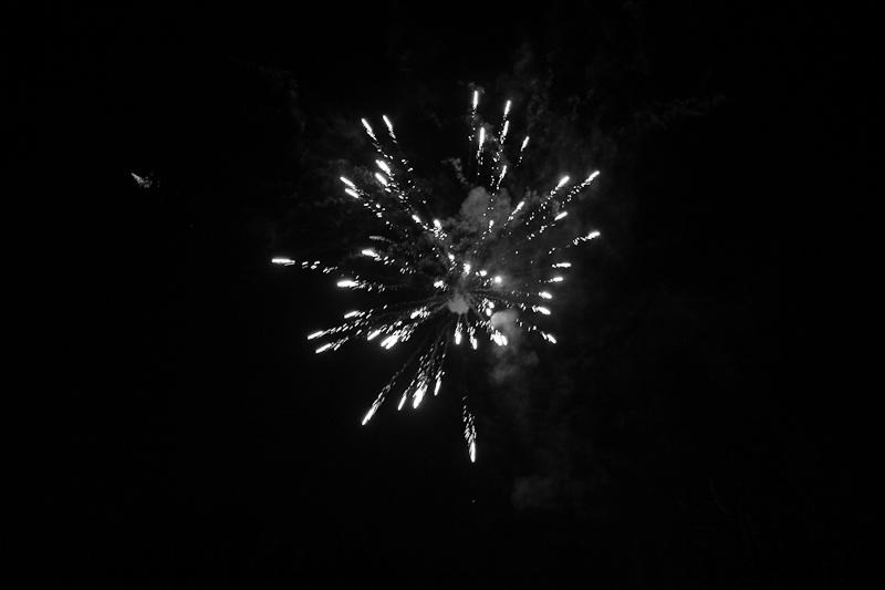 Feuerwerk Silvester 2011