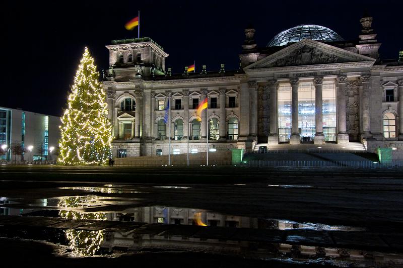 Weihnachten am Reichstag